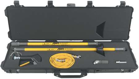 "Pistol Grip Air Gun Kit,  48"" Extension"