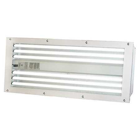 T5 Spray Booth Light Fixture, 6 Tube