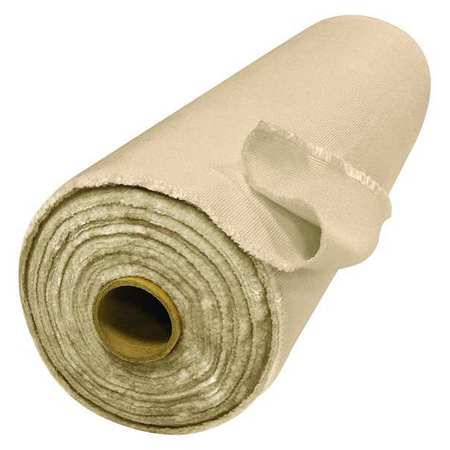 Welding Blanket Roll, 150ft. W, 5ft. H, Tan