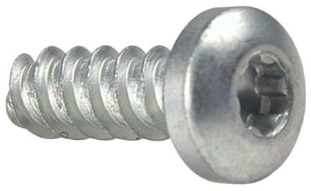 Thread Forming Scrw, Pan, #0-42, 3/8 L, PK50