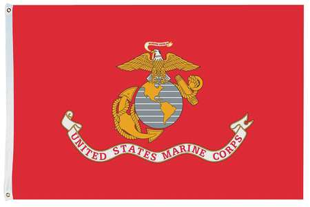 US Marine Corps, 4x6 Ft, Nylon