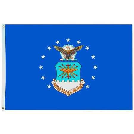 US Air Force Flag, 5x8 Ft, Nylon