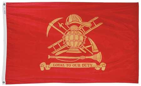 Fireman Flag, 3x5 Ft, Nylon