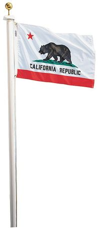 California Flag, 5x8 Ft, Nylon