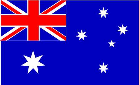 Australia Flag, 5x8 Ft, Nylon