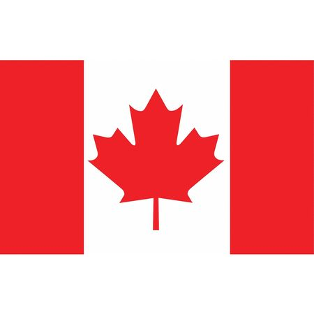Canada Flag, 5x8 Ft, Nylon