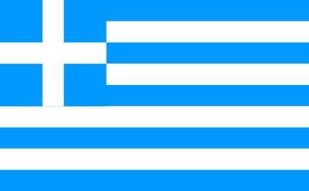 Greece Flag, 3x5 Ft, Nylon