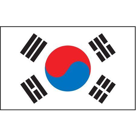 South Korea Flag, 3x5 Ft, Nylon