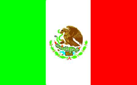 Mexico Flag, 3x5 Ft, Nylon