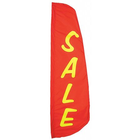 Sale Feather Flag, 2x8 Ft, Nylon