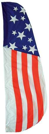 US Feather Flag, 2x8 Ft, Nylon