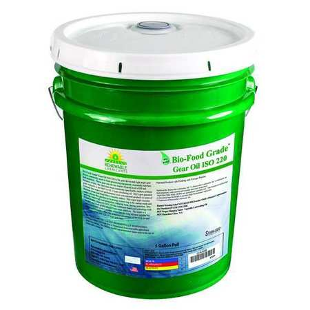 Gear Oil,  Biobased,  ISO 220,  5 gal.,  NSF H1