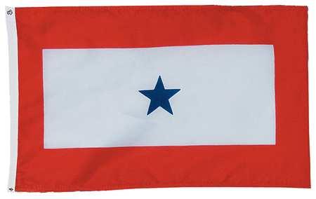 Service Star Flag, 3x5 Ft, Nylon