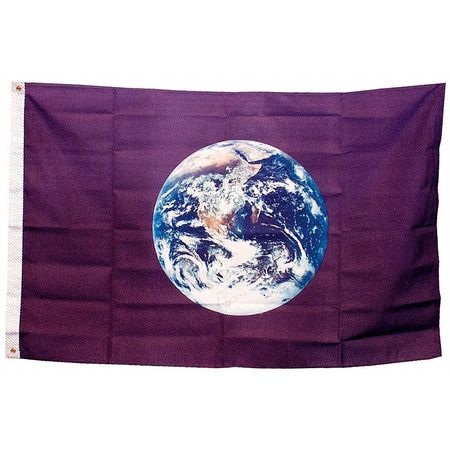 Earth Flag, 3x5 Ft, Nylon