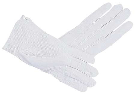 Parade Gloves, White, Large, PR