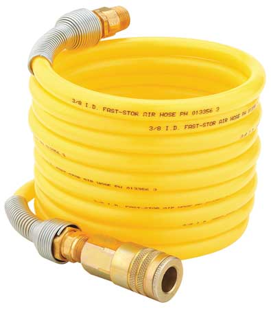 Air Supply Hose with Fittings,  12 Ft.