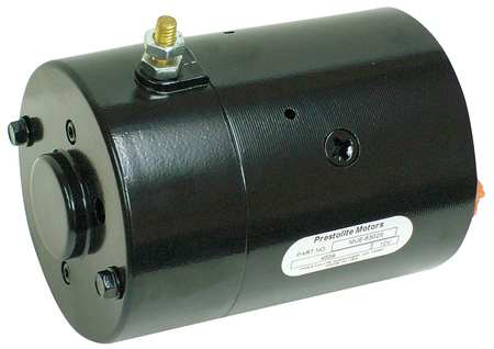 DC Motor, 6-3/4 In. L, CCWSE, Wound Field
