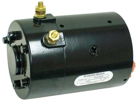 DC Motor, 7 In. L, CWSE, Wound Field
