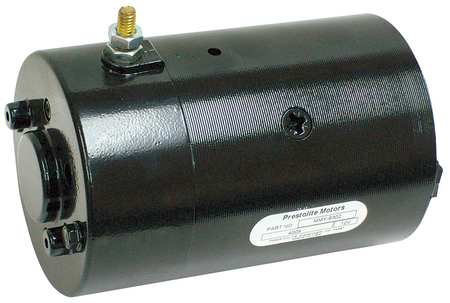 DC Motor, 7-1/2 In. L, CCWSE, Wound Field