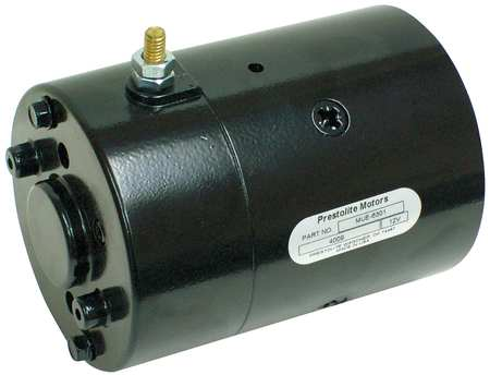DC Motor, 6-13/16 In. L, CCWSE, Wound Field
