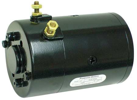 DC Motor, 6-5/16 In. L, CWSE, Wound Field