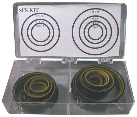 O-Ring Asst, SFS, Urethane, 35 Pc, 7Sz