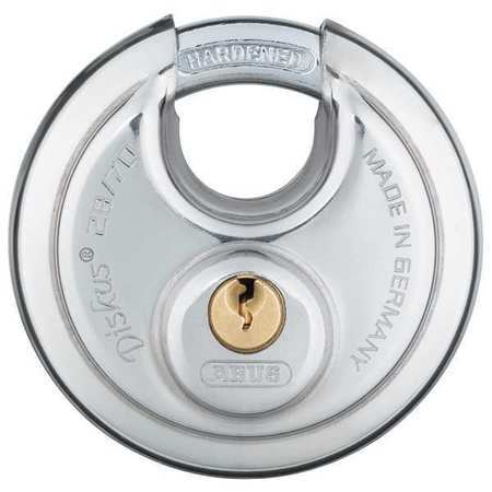 "Keyed Padlock, Alike, 2-3/4""W, PK2"