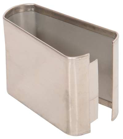 "3"" x 4"" Shoe Stainless Steel Split for Steel Partition"