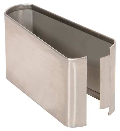 "3"" x 5"" Shoe Stainless Steel Split for Steel Partition"