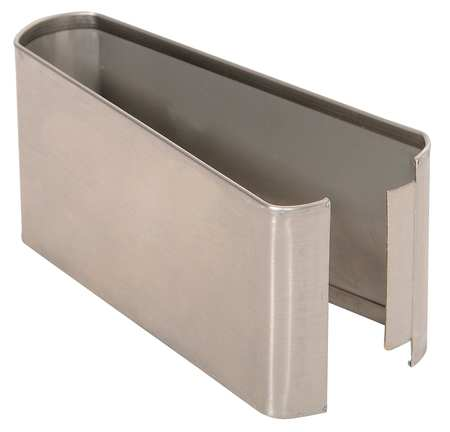 "3"" x 6"" Shoe Stainless Steel Split for Steel Partition"