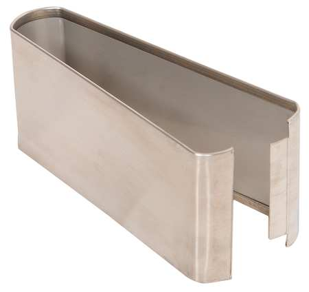 "3"" x 7"" Shoe Stainless Steel Split for Steel Partition"