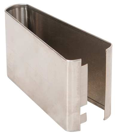"3"" x 8'' Shoe Stainless Steel Split for Steel Partition"