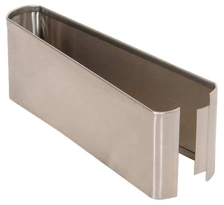 "3"" x 10"" Shoe Stainless Steel Split for Steel Partition"