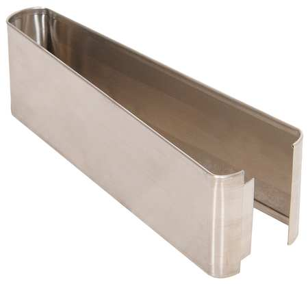 "3"" x 1 ft. Shoe Stainless Steel Split for Steel Partition"