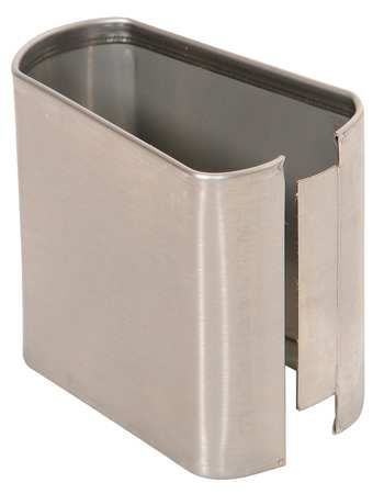 "3"" x 3"" Shoe Stainless Steel Split for Steel Partition"