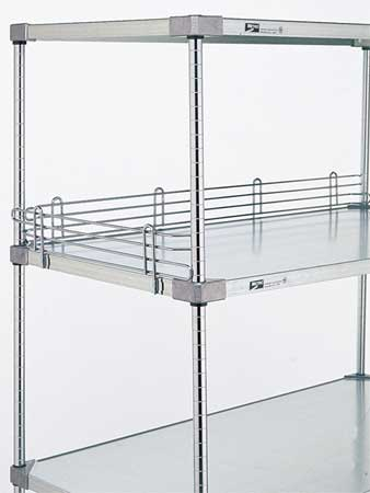 Shelf Side/Back Ledge, 4 H x 18 in. W, PK2
