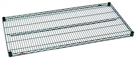 Wire Shelf, 1-1/8 H x 18 W x 48 in. D, PK5