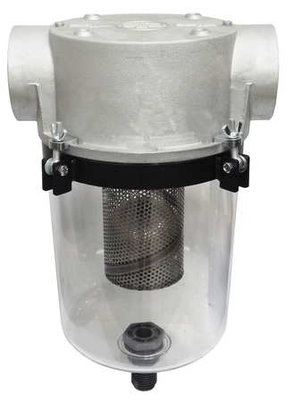 Liquid Separator, 3In FNPT Inlet/Outlet