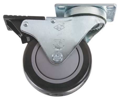 Flange Mount Swivel Caster, For 10 & 15