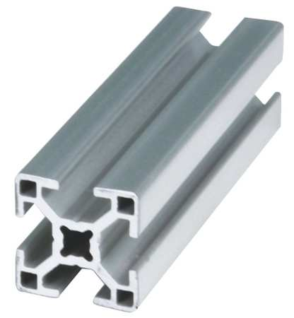 Extrusion, T-Slotted, 30S, 4M L, 30 mm W