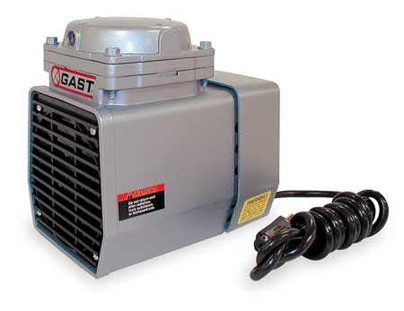 Compressor/Vacuum Pump, 1/3 HP, 60 Hz, 115V