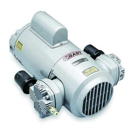 Piston Air Compressor/Vacuum Pump, 1/2HP