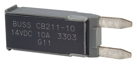 Automotive Circuit Breaker, CB211, 10A, 14V