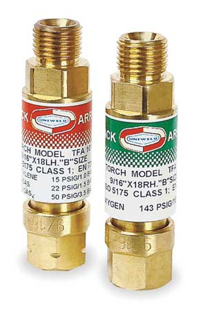 Flashback Arrestor, Regulator, Oxy/Fuel
