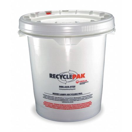 Lamp Recycling Kit, 14x10x11-1/2In