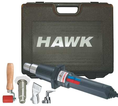 Roofing Heat Gun Kit, 80 to 1250F, 14.6A