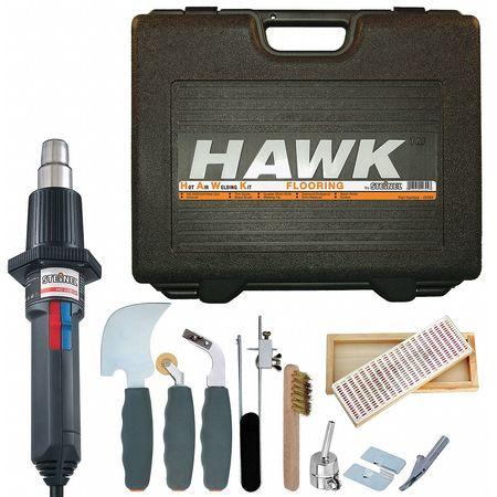 Heat Gun Kits, 80 - 1250F, 0 to 15.4 cfm