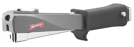 Hammer Tacker, Light Duty, Flat Crown