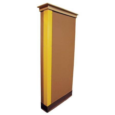 Corner Guard Yellow 2x48 Hardware FR