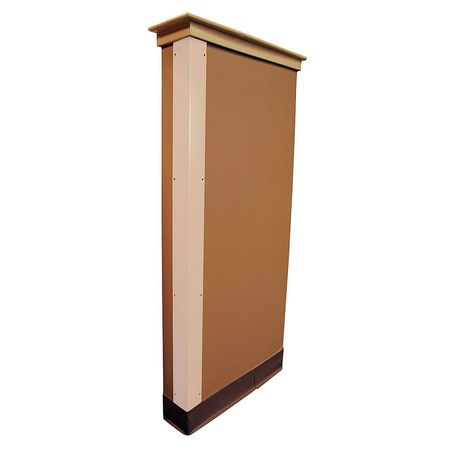 Corner Guard Almond 3x48 Hardware FR